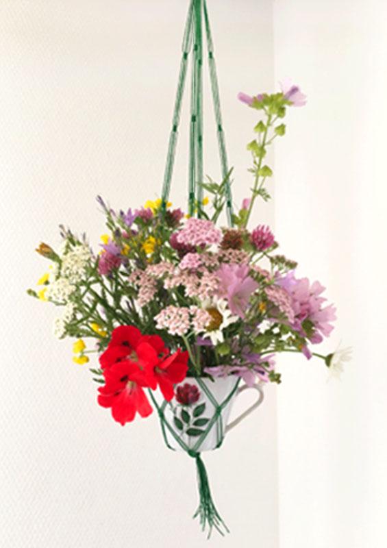 litil Cripper Blumenampel Planthanger Wiesenblumen